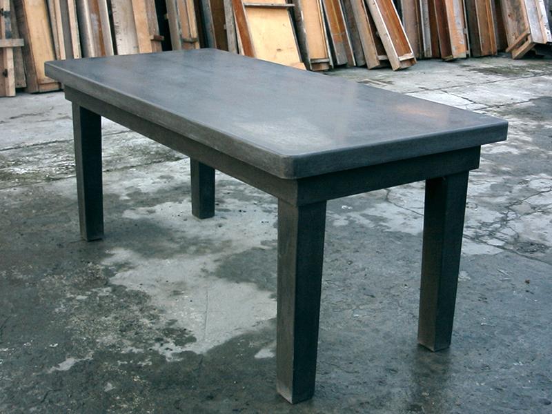 Beton Tafel Buiten : Betonnen tafel