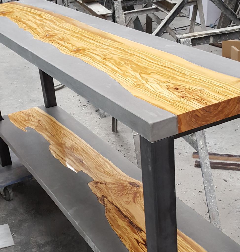 Super Betonnen tafel EL23
