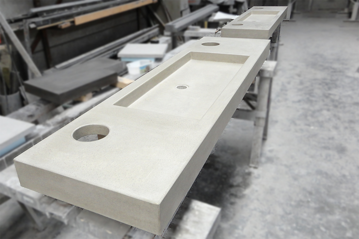 Wastafel Van Beton : R beton design betonnen wasbak