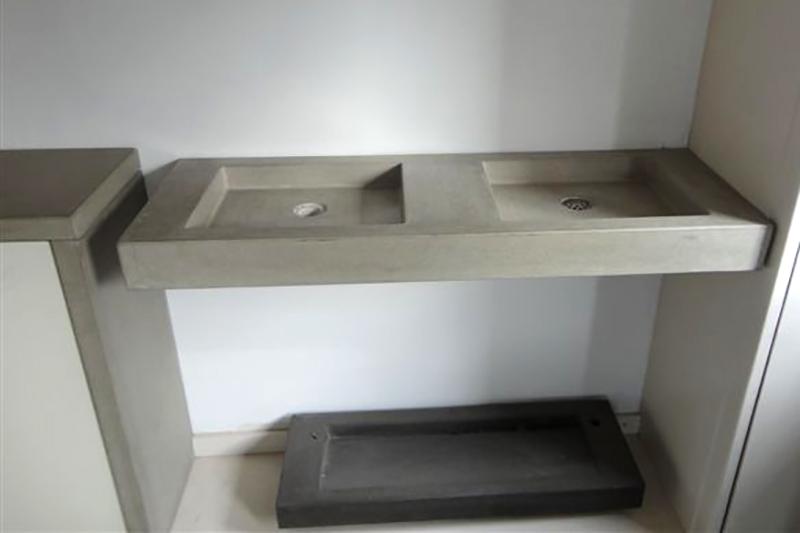 Dubbele Wastafel Hout Houten wasbakken Betonnen wastafel prijs vind beton w # Wasbak Maken_074958