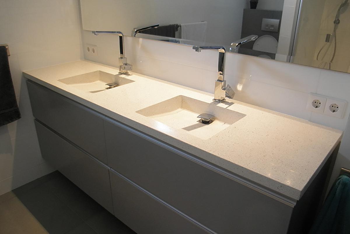 Badkamer wastafel beton home design idee n en meubilair inspiraties - Moderne wastafel ...