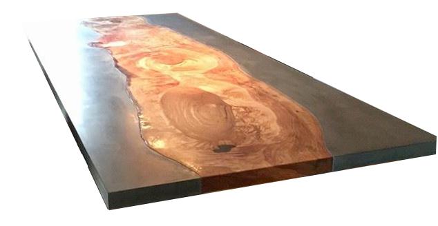 Hout En Beton : Aanrechtbladnu meubels grote buitentafel beton hout magazijn