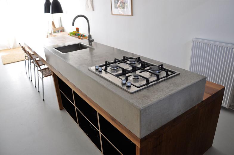 Prijs betonnen aanrechtblad - Hoe je een centrum eiland keuken te maken ...