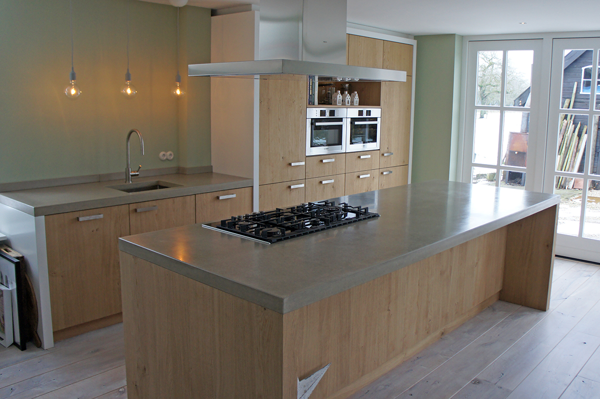Keukeneiland Werkblad : Werkbladen beton